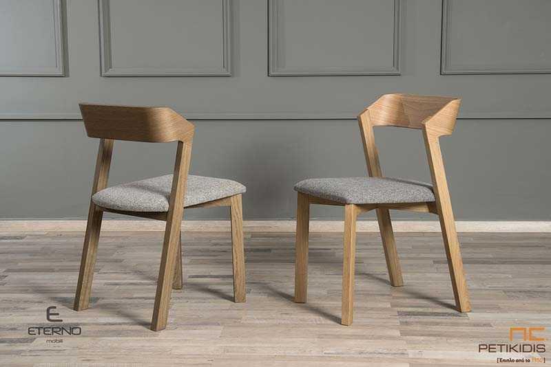 Καρέκλα HAPPY - Μασίφ Πόδια από Δρυς