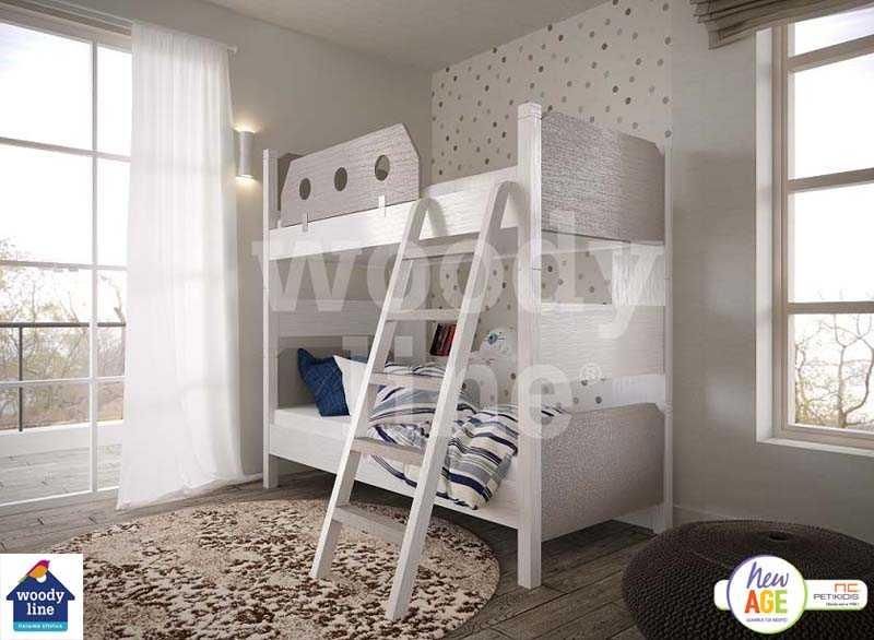 Παιδικό Δωμάτιο Άμμος με Κουκέτα