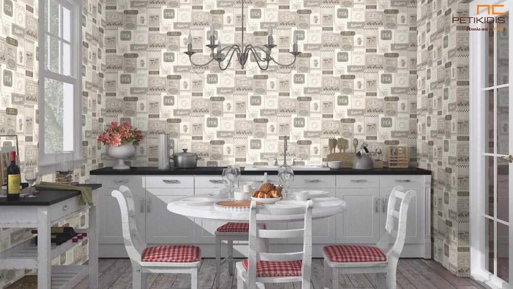 Ταπετσαρία Τοίχου για Κουζίνα Deco Relief - 518412