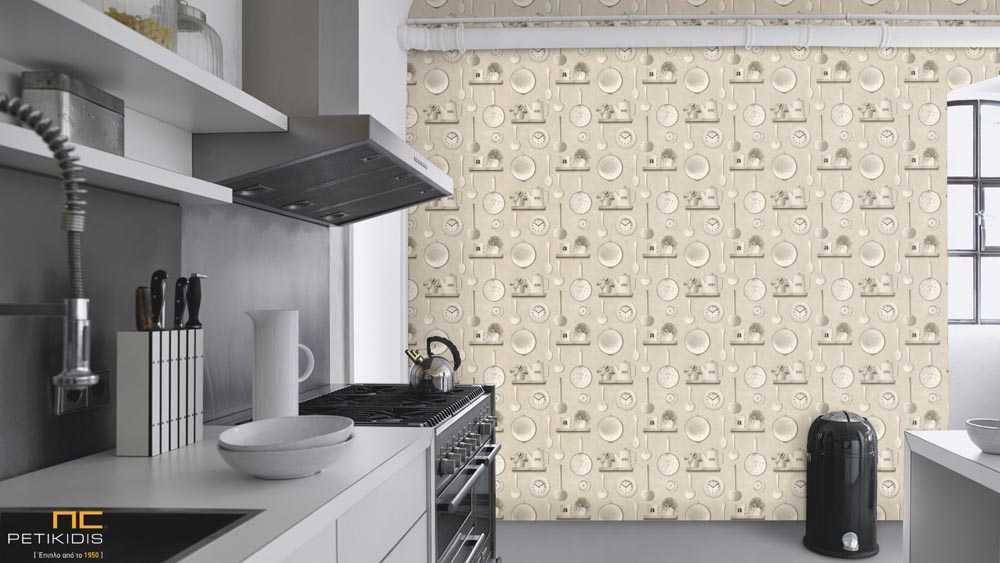 Ταπετσαρία Τοίχου για Κουζίνα Rasch Deco Relief - 307115