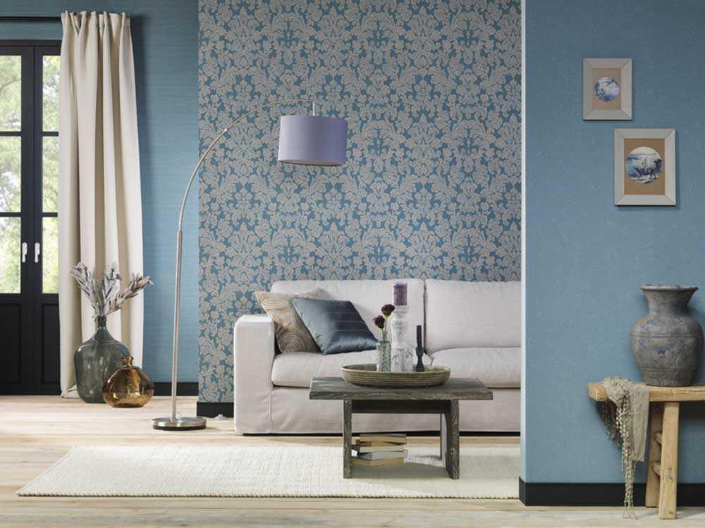 Ταπετσαρία Wallpaper Μοτίβο Μπλε