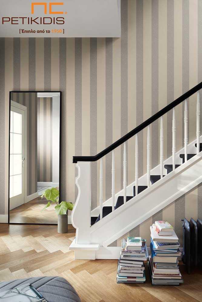 Ταπετσαρία Ταπέτα Τοίχος Rasch Design Stripe / Ρίγες