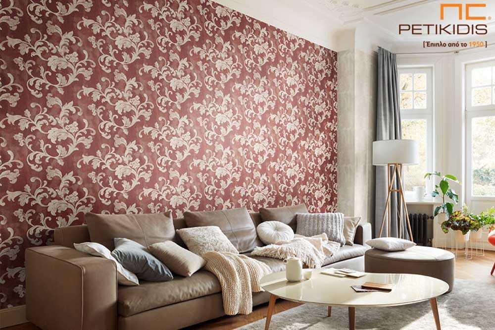 Ταπετσαρία Ταπέτα Τοίχος Rasch Design Fiorentine
