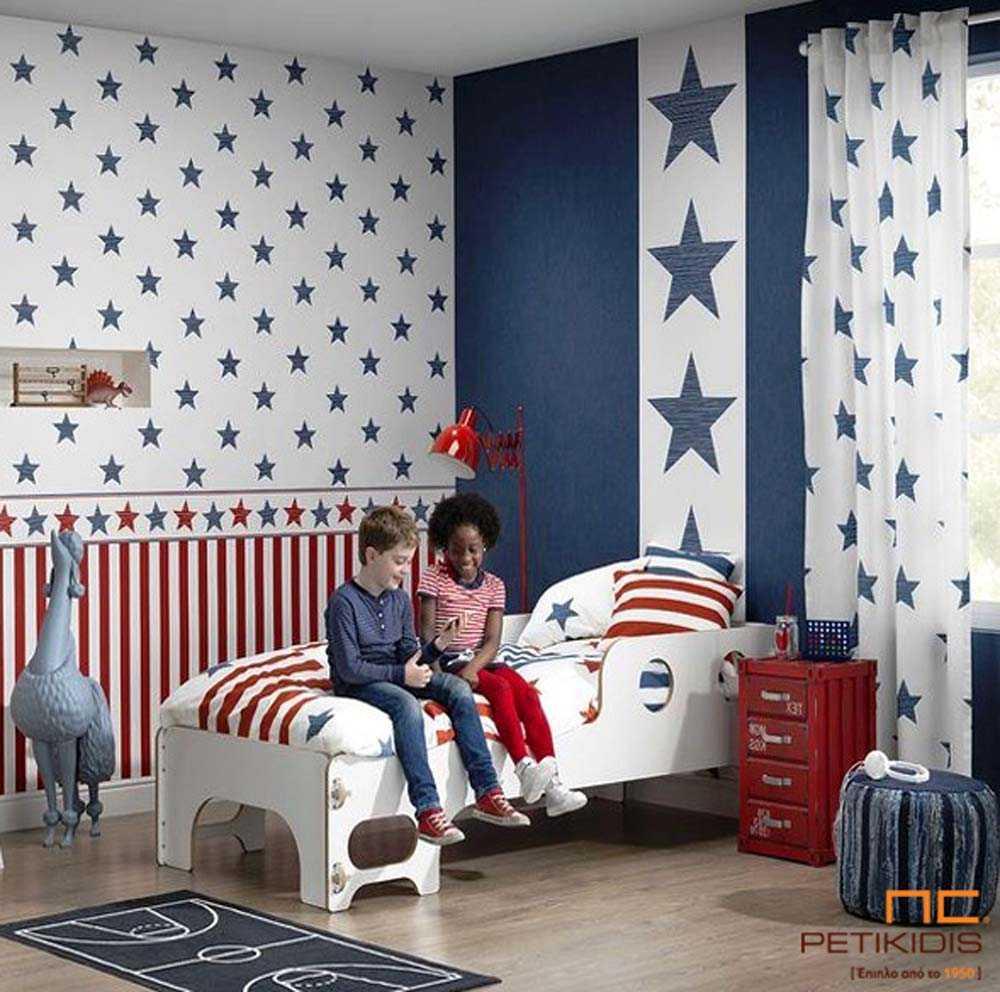 Ταπετσαρία Τοίχου για Παιδικό Δωμάτιο