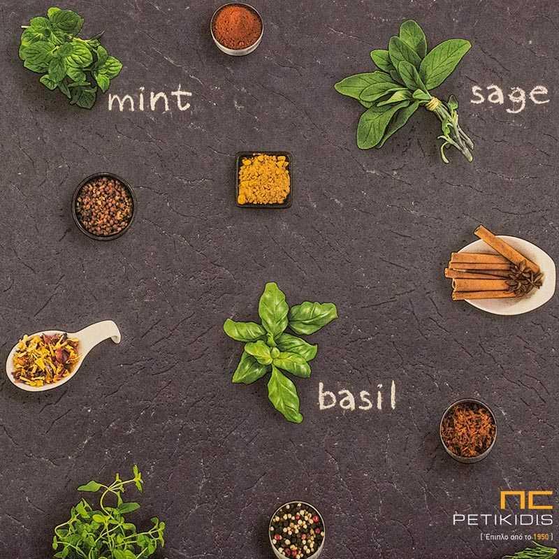 Ταπετσαρία Τοίχου Deco Relief Rasch για Κουζίνα - 930900