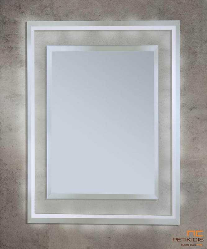 Μακρόστενος Καθρέπτης C310 με Φωτισμό