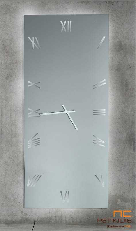 Μακρόστενος Ολόσωμος Καθρέπτης Ρολόι C340