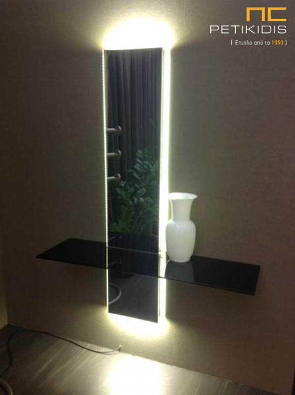 Κονσόλα Καθρέπτης με Φωτισμό (K50)
