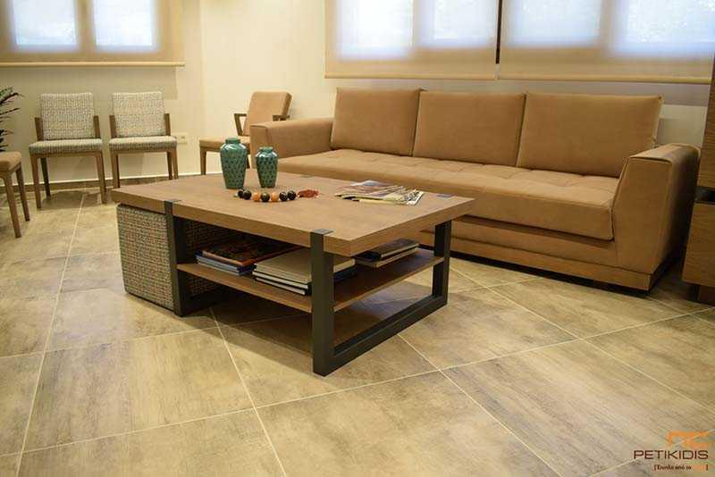 Εσωτερική Διακόσμηση Ιατρείου - Καθίσματα Αναμονής Ιατρείου