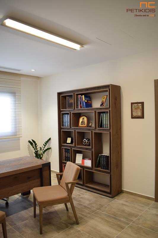 Εσωτερική Διακόσμηση Ιατρείου - Βιβλιοθήκη