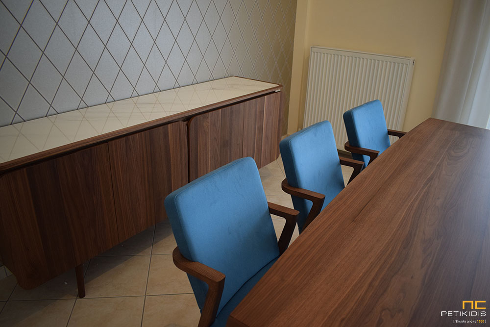 Καρέκλες από Ξύλο Καρυδιάς - Mossa / Anesis