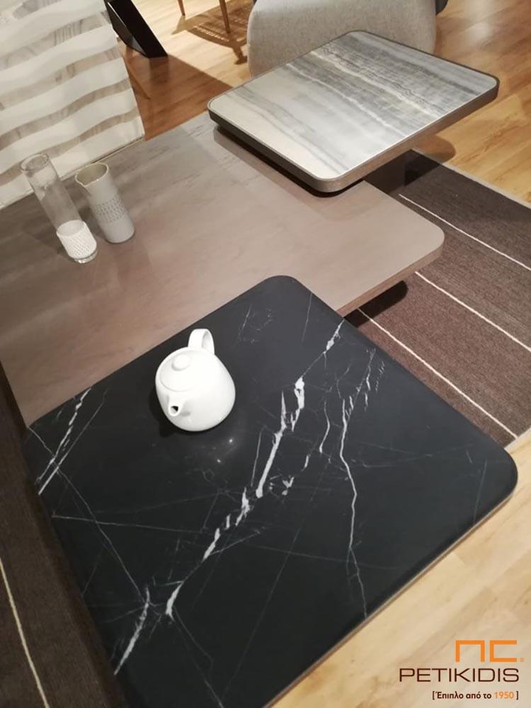 Τραπέζι Κουζίνας με Κεραμική Επιφάνεια