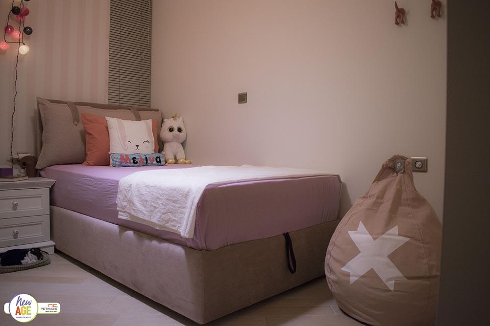 Το Παιδικό Δωμάτιο της Μελίνας - Κρεβάτι & Στρώμα Linea Strom