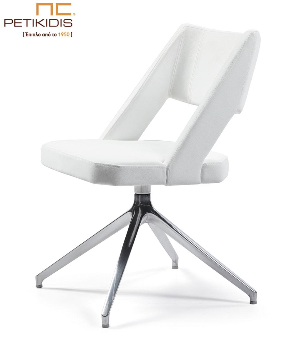 Καρεκλοπολυθρόνα Νο232-29 με μεταλλική βάση . Μπορούν άνετα να χρησιμοποιηθούν και ως καρέκλες συνομιλητού σε εργασιακό χώρο. Ιδιαίτερη άνεση και σχεδιασμός. Το ύφασμα είναι εκρού αλέκιαστο και αδιάβροχο.